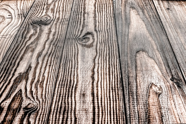Vintage wooden background with perspective