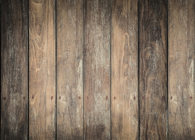Vintage wooden wall background texture