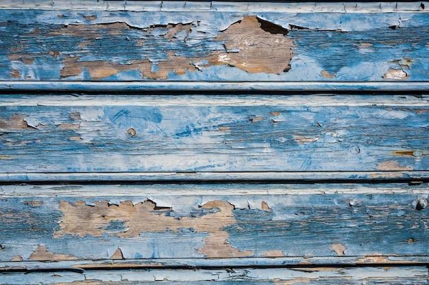 ヴィンテージに着用し、汚れたウッドテクスチャを青く塗った。