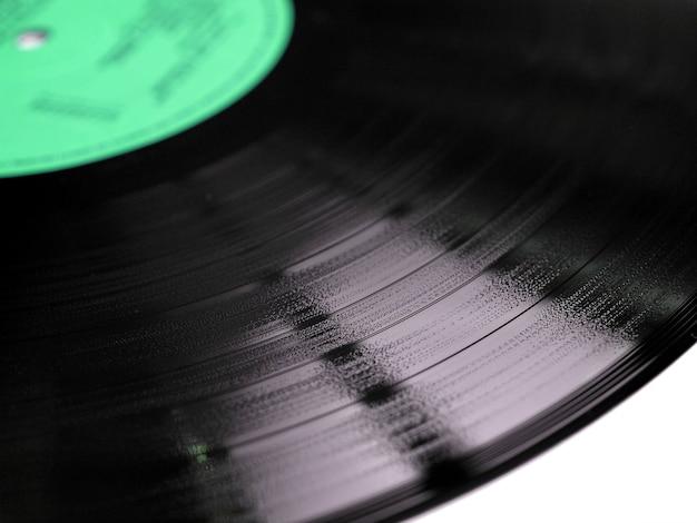 ビニールレコードの溝