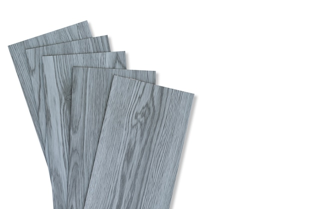 Vinyl tiles for home interior design for house renovation.