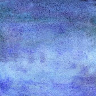 斑点ドットぼやけた円と紫の青い水彩画の背景