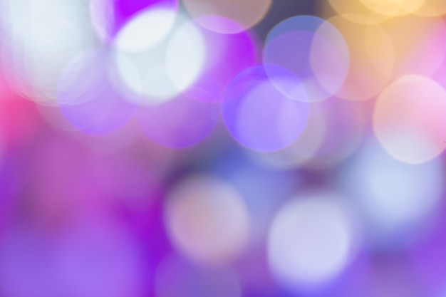 Violet bokeh with big circles background for wallpaper.