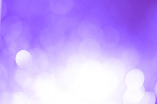 Violet bokeh with copy space. abstract background.