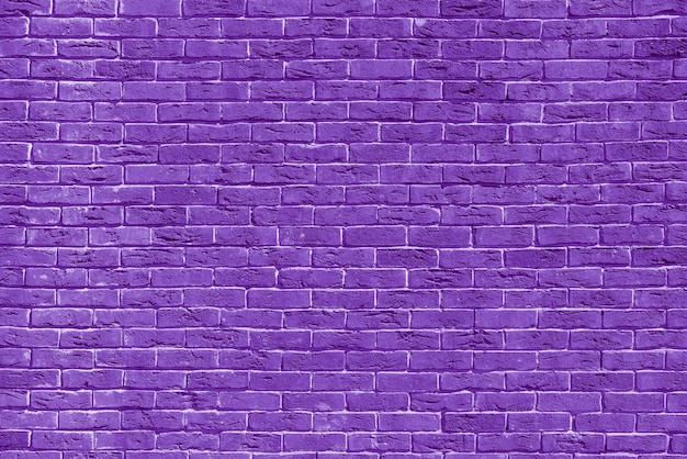Violet brick building wall. interior of a modern loft. background for design.
