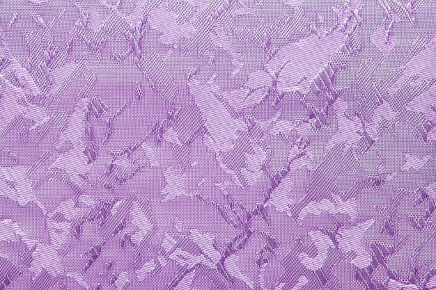 Violet fabric blind curtain texture