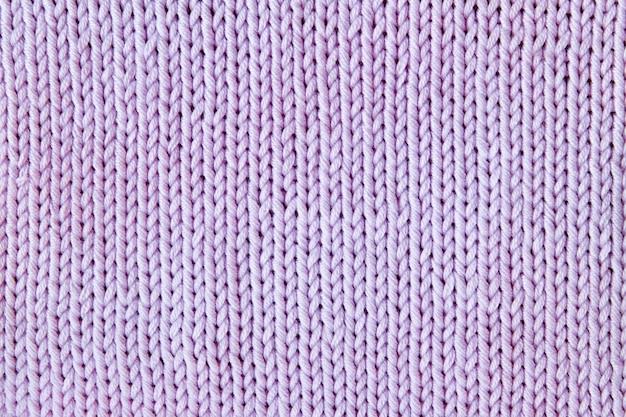 보라색 또는 자주색 니트 질감 된 배경
