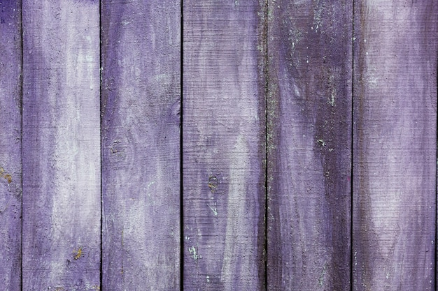 Violet painted old wooden texture
