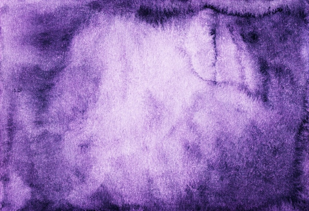 Violet watercolor surface background