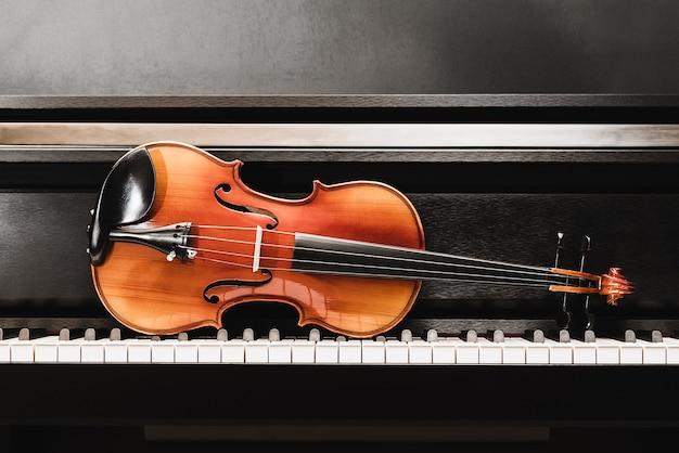 Скрипка и фортепиано. классическая музыка.