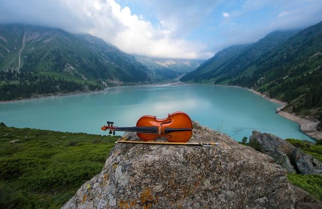 山頂のヴァイオリン