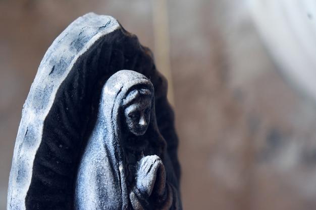 Virgin of guadalupe praying