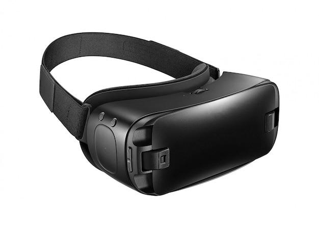 Гарнитура виртуальной реальности изолирована