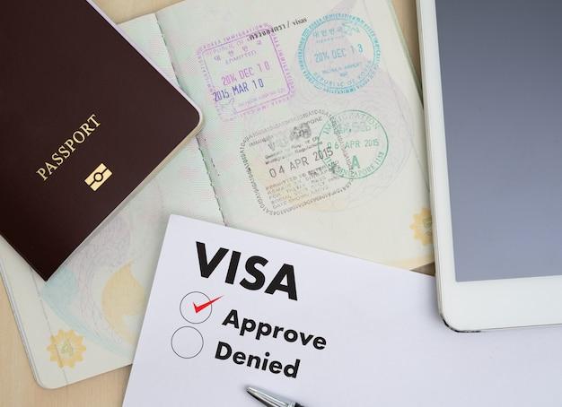 Визовая анкета для поездки иммиграция документ деньги для карты паспорта и плана поездки