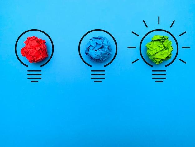 新しい成功したアイデアのビジョン