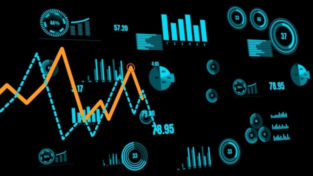 Бизнес-панель visionary для анализа финансовых данных