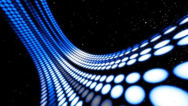 Визуальный поток и передача данных в киберпространстве