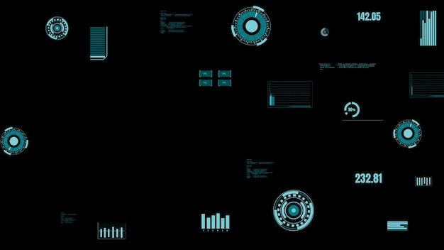 기계 상태를 보여주는 미래형 산업 데이터 대시 보드