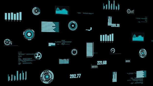 Панель мониторинга отраслевых данных, отображающая состояние машины