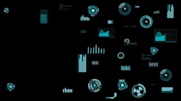 マシンのステータスを表示する先見の明のある業界データダッシュボード