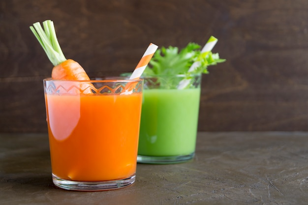 Vitamin diet cocktails for weight loss. vegetarian drinks.