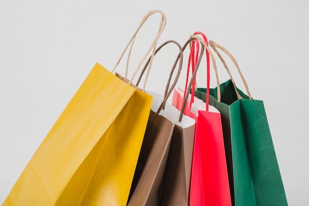 Vivid paper bags