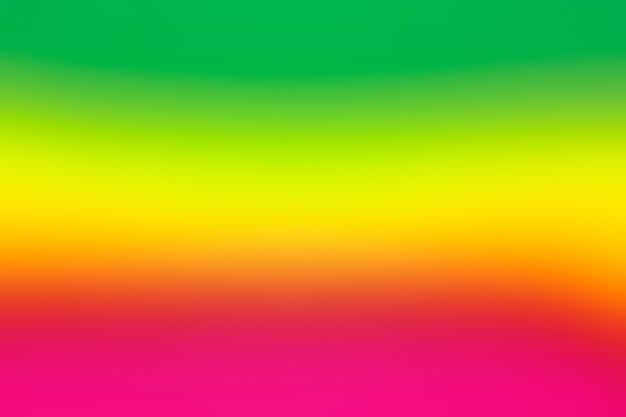 Vivid rainbow gradation