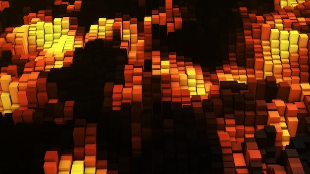 Vj золотой световой эквалайзер