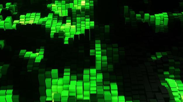 Vj эквалайзер зеленого свечения