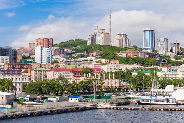 Владивосток воздушный панорамный вид