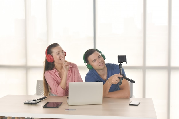 Vlogger internet star marketer broadcast startup small business