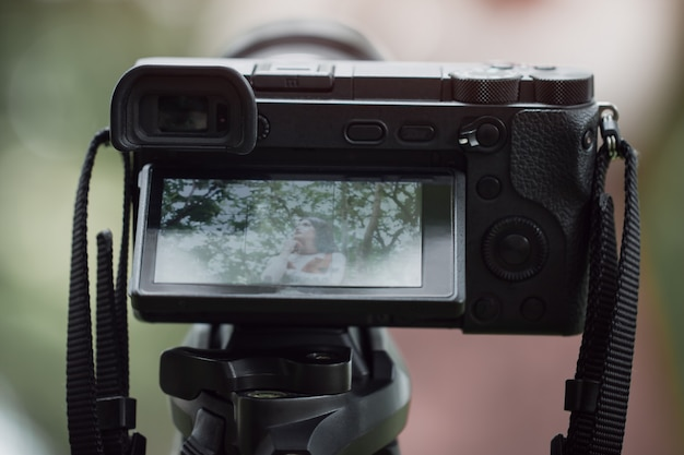 Азиатская красота vlogger обзор смартфон учебник за оператором