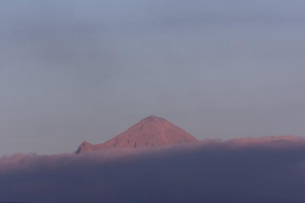 Volcan popocatepetl en mexico