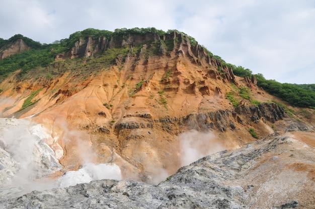火山の風景