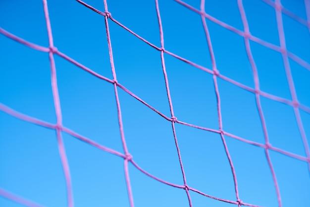 Volleyball net background