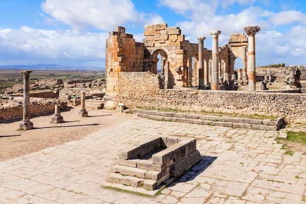 Volubilis in morocco