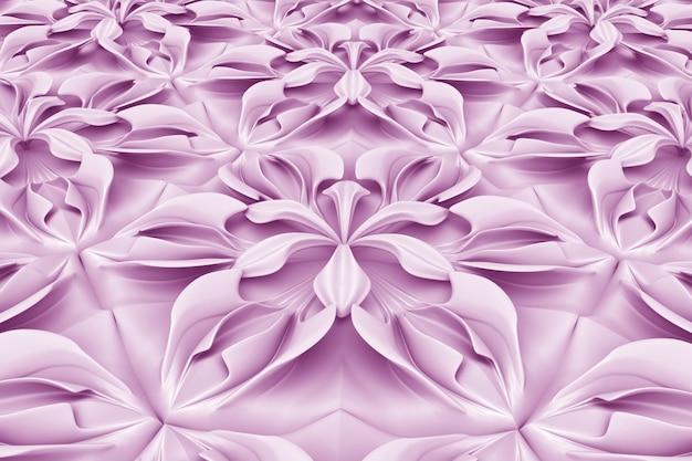 Volume three-dimensional flowers