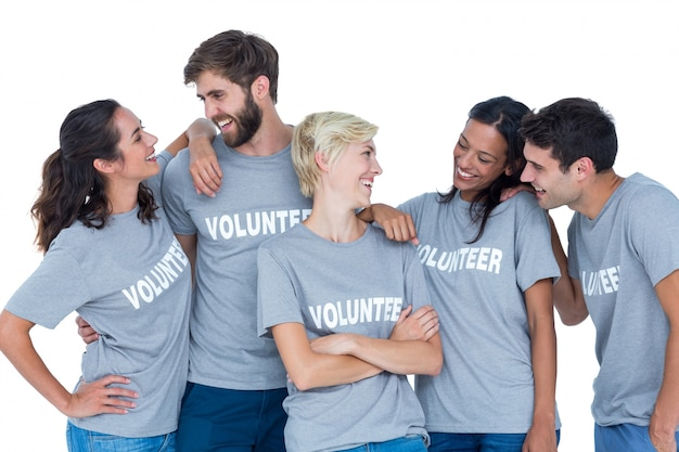 함께 이야기하는 자원 봉사자