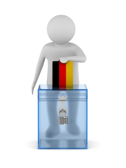 Voting in germany on white