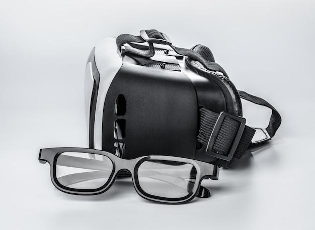 Vr. virtual reality glasses
