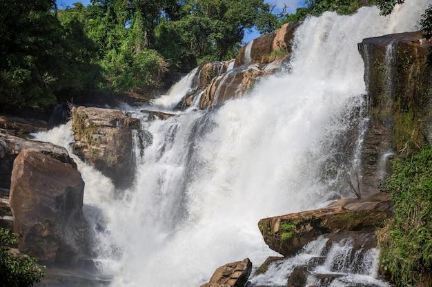 Wachirathan beautiful waterfall