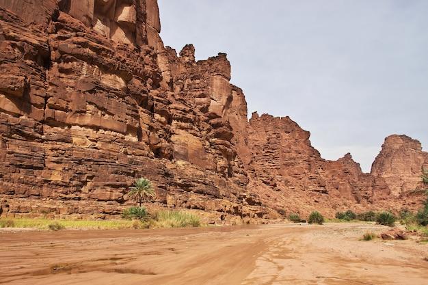 Wadi disah、al shaqキャニオン、サウジアラビア
