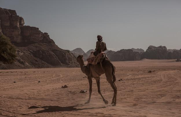 ヨルダンのワディラム砂漠