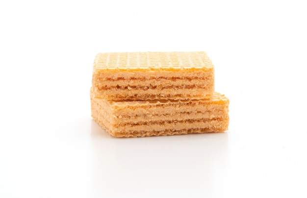 Вафельное печенье с апельсиновым кремом