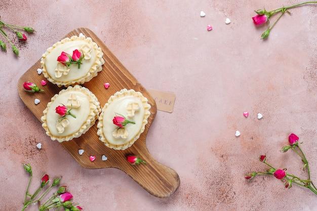 Вафельное печенье с домашним вкусным кремом.