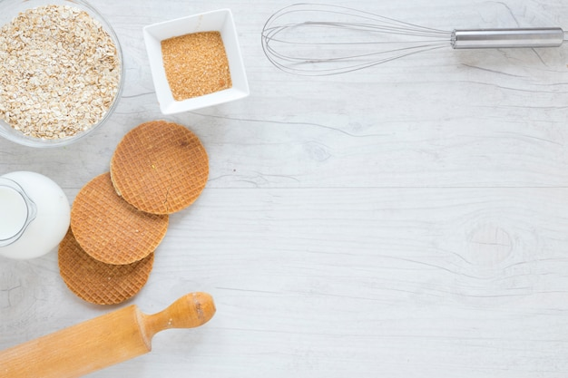 Waffles and kitchenware