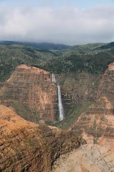 Waimea canyon state park in usa