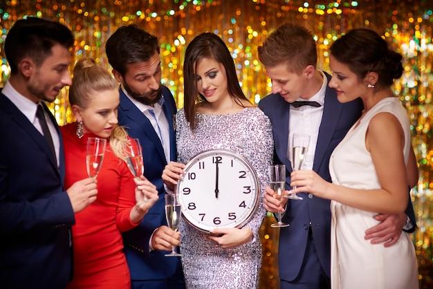 Ho aspettato molto tempo per il nuovo anno