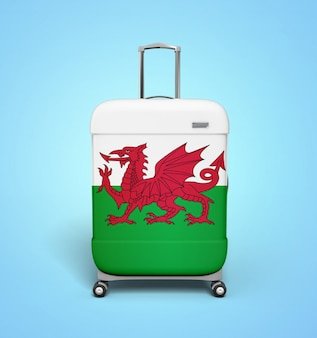 Wales suitcase - vacation