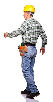 Walking handyman